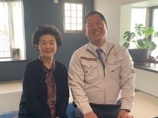 実際に会ったその日に、菊井さんにお任せしようと決めていました。