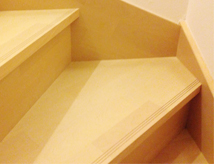 階段滑り止め設置