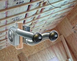 小屋裏センサー換気扇 断熱材入れセット