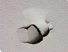 壁穴あき補修