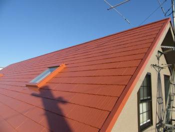堺市 美原区 カークイックサービス様 屋根高圧洗浄・塗装リフォーム