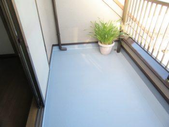 堺市カークイックサービス様 テラス防水リフォーム工事
