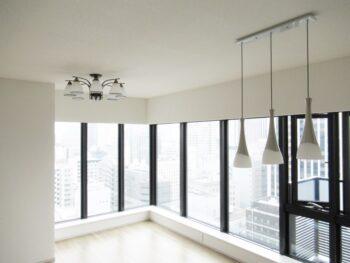 分譲マンション(新築入居前)リフォーム 大阪市中央区 S様邸 輸入照明器具設置工事