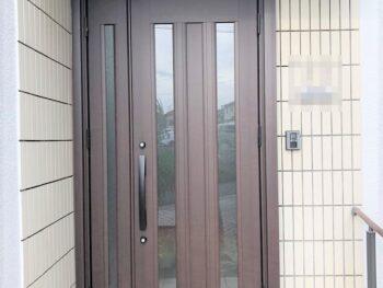 【外装リフォーム】玄関ドア取替リフォーム 堺市北区N様