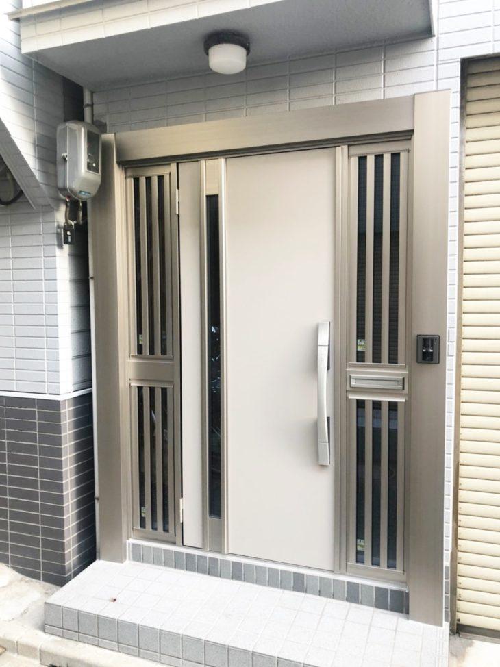 【戸建てリフォーム】玄関ドア取替リフォーム 西成区K様