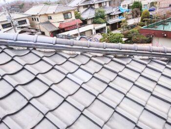 【台風被害復旧工事】屋根瓦修復リフォーム 富田林市 K様邸