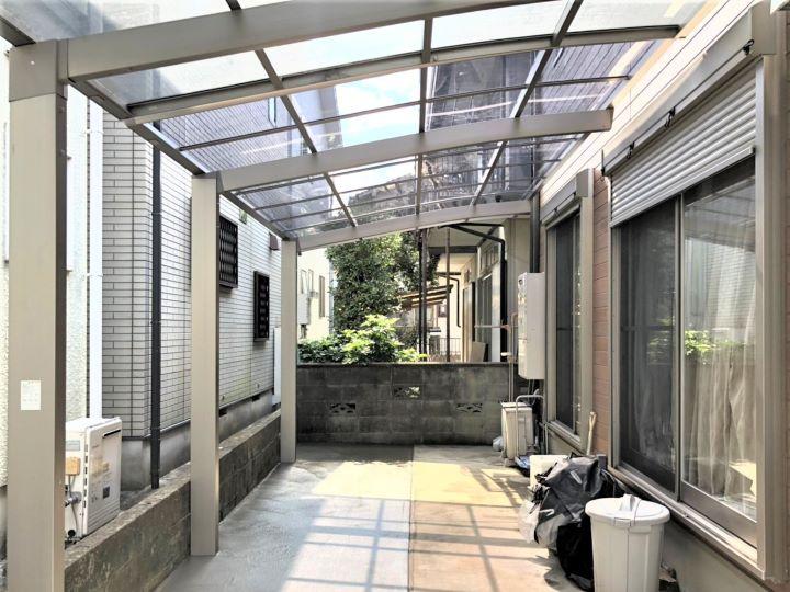 【エクステリアリフォーム】カーポート設置工事 茨木市 N様邸
