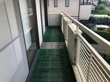 堺市美原区の家 2階のベランダ